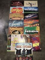 K-TEL Compilation Lp Lot Of 13 Records Ronco