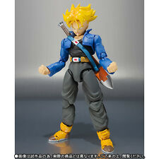 BANDAI S.H. FIGUARTS DRAGON BALL Z TRUNKS SUPER SAIYAN PREMIUM COLOR EDITION