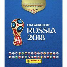 2018 PANINI WORLD CUP SOCCER HARD COVER ALBUM