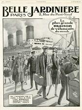 """""""BELLE JARDINIERE"""" Annonce originale entoilée L'ILLUSTRATION 22/9/1928 J. WANKO"""