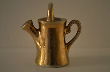 Miniature Gold Colored Sprinkling Can - Watering Can