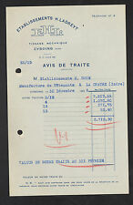 """CYSOING (59) TISSAGES MECANIQUES """"Ets H. LADREYT"""" en 1936"""