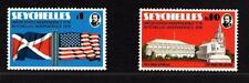 Seychelles 1976 Independance United States of America Mi. 356-357 Postfrisch UMM