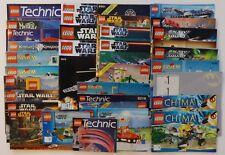 LEGO Instruction Manual LOT 35 Books Star Wars City Technic Galaxy System Chima