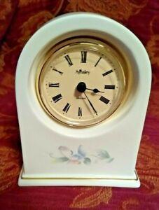 Aynsley Little Sweetheart Bone China Clock working