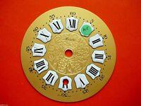 Cadran  pendule Zenith neuchateloise horloge Zifferblatt Uhr Clock 11 cm dial N2