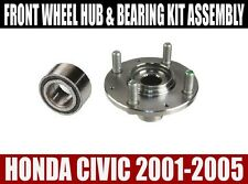 Fits:Honda Civic Front Wheel Hub And Bearing Kit Assembly 2001-2005