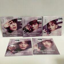 SHINee CD Winter Wonderland Japan FC Limited Taemin Jonghyun KEY Onew Minho SET