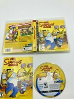 Sony PlayStation 3 PS3 CIB Complete Tested The Simpsons Game Ships Fast