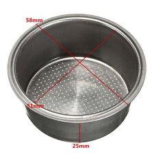 Hot Coffee 2 Cup 51mm Non Pressurized Filter Basket For Breville Delonghi Krups