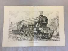 LNER 4-6-2 Class A3 Pacific 4472 Flying Scotsman Print By Norman Giles  Railway