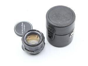Asahi Pentax Super-Takumar 50mm f/1.4 M42 Mount Lens - EXCELLENT !