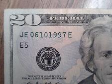 BIRTHDAY TWENTY DOLLAR BILL- 06 10 1997 ~ Fancy 20th Birthday on a $20 bill 2017