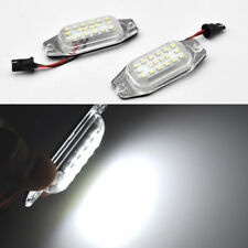 2x White LED License Plate Light For Toyota Fj80 Land Cruiser Prado LEXUS LX450
