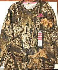 MOSSY OAK T Shirt Camo  Camouflage Shirt Women Juniors Small - New!!!
