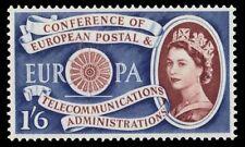 GREAT BRITAIN 378 (SG622) - CEPT-Europa 1st Anniversary (pf15509)