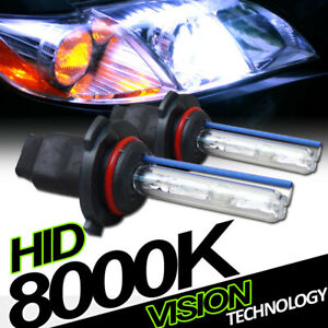 8000K Hid Xenon 9005/Hb3 High Beam Headlights Headlamps Bulbs Conversion Kit Vb2
