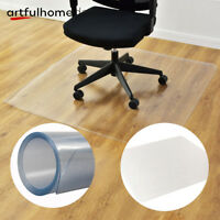 "NEW 48"" x 60"" PVC Chair Floor Mat Home Office Protector For Hard Wood Floors"