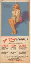 Marilyn Monroe, Earl Moran Pin-Up, 1950's, Advertising Give-A-Way