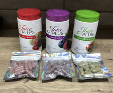 Juice Plus Capsules 10 Day Trial - 20 Of Each Blend Fruit / Veg / Berry