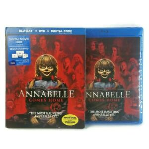 Annabelle Comes Home [2019]  Blu-ray+DVD+Digital NEW SEALED with Slipcover