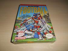 NES Play Action Football Brand New Factory Sealed Nintendo NES Game Original