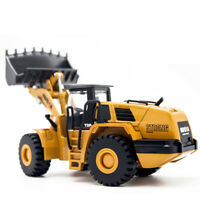 1:50 Alloy Diecast Engineering Vehicle Model Tractor Shovel Forklift Truck Toy