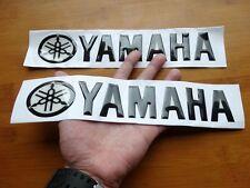 "25cm Oil Tank Fairing Emblem Decal 3D 10"" for Yamaha YZF R1 R6 YZR FZR FZ Racing"