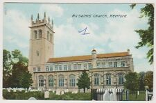Hertfordshire postcard - All Saint's Church, Hertford (A58)