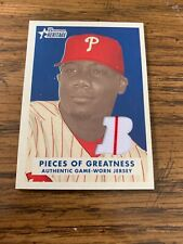 2006 bowman heritage pieces of greatness Ryan Howard