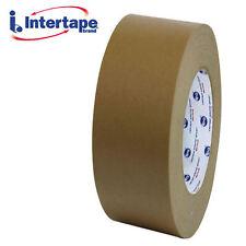 "Intertape 530 Flatback Tape Brown 2"" x 60yds - 2 rolls"