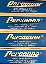 PERSONNA FINEST SURGICAL STAINLESS STEEL SINGLE EDGE SHAVING RAZOR BLADES 20 pc