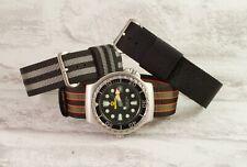 The James Bond 007 watch strap collection RAF type nylon pull through
