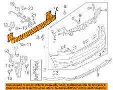 AUDI OEM 16-18 A3 Sportback e-tron Rear Bumper-Impact Bar 8V4807309C