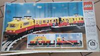 LEGO 7740 Treno passeggeri Inter-City solo scatola vuota originale usata rara