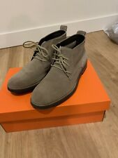 Cole Haan Chukka Boot, Suede, Green/Blue, Size 10 Men's