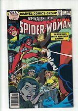 MARVEL Comics Spider woman no 11 February 1979 35c USA
