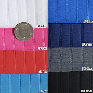 """PINSTRIPE 4-WAY STRETCH FABRIC COMPETITIVE SWIMMERS' WEAR ACTIVE SPORTSWEAR 60""""W"""