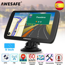 """Awesafe 9"""" coche GPS navegador Portátiles SAT NAV con 8G mapa de Europa"""
