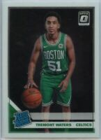 2019-20 Donruss Optic Basketball Tremont Waters RATED ROOKIE Card #185 Celtics