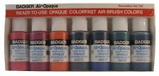 Badger Air-Brush Company Air-Opaque Water Based Acrylic Paint Secondary Set 1.