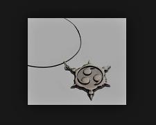 Halskette / Anhänger Shuriken Naruto