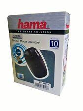 Hama am-8000  Kabellos Optische 1200dpi beidhändig schwarz - Maus (beidhändig,