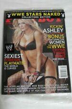 BRAND NEW Playboy Magazine April 2007 Ashley Massaro Women of WWE Chyna Sealed