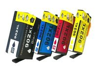4 Pack 902XL Ink Cartridges for HP Officejet Pro 6960 6968 6970 6975 6978