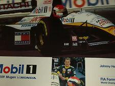 Lotus 109 Johnny Herbert le dernier Véritable Grand Prix Team