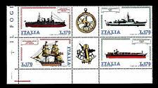 ITALIA REP. - 1978 - Costruzioni navali italiane. 2a emissione Ships Schiffe