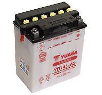 YUASA YB14L-A2 Battery with Acid Pack