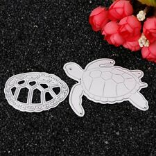 Turtle Metal Cutting Dies Stencil DIY Scrapbook Album Embossing Card Paper Craft
