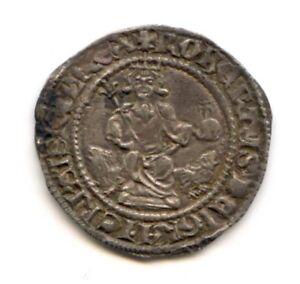COMTÉ DE PROVENCE ROBERT D'ANJOU (1309-1343) CARLIN POSTHUME